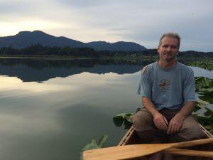Myself on Somenos Lake