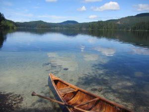 Main Lake Quadra Island