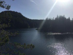 Mine Lake -Quadra Island